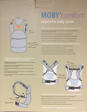 Moby Comfort Karton Rückseite