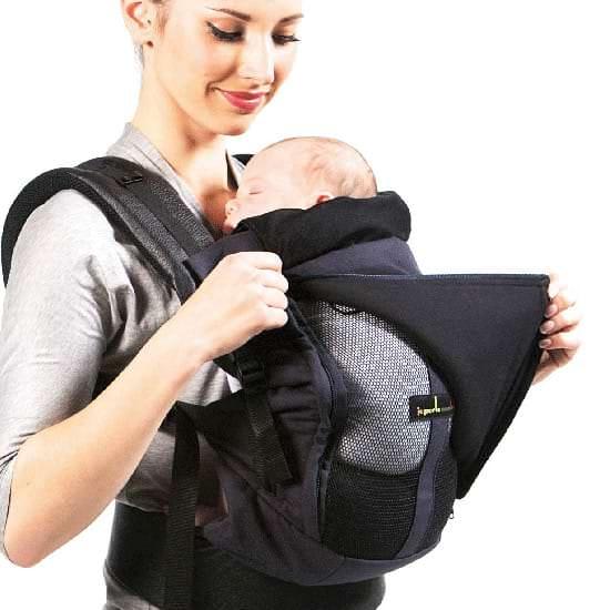 Physio Carrier Bauchtrage Säugling, geschlossen