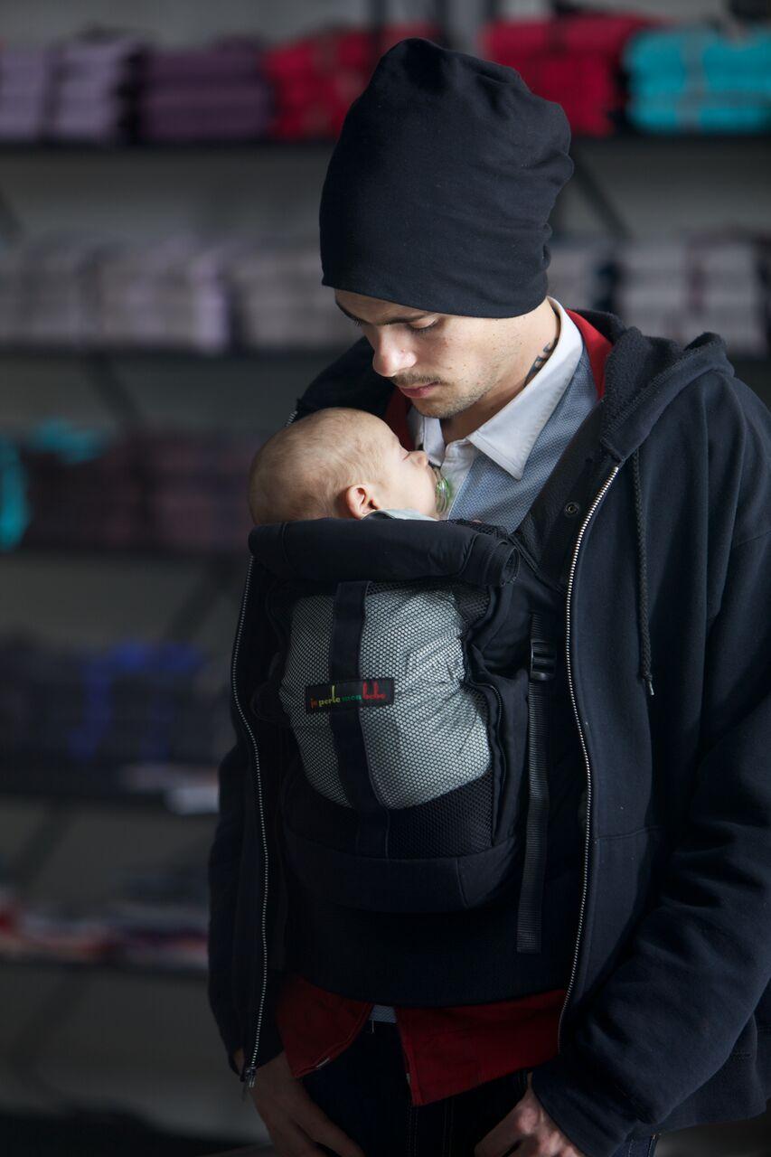 Physio Bauchtrage, offen, Säugling
